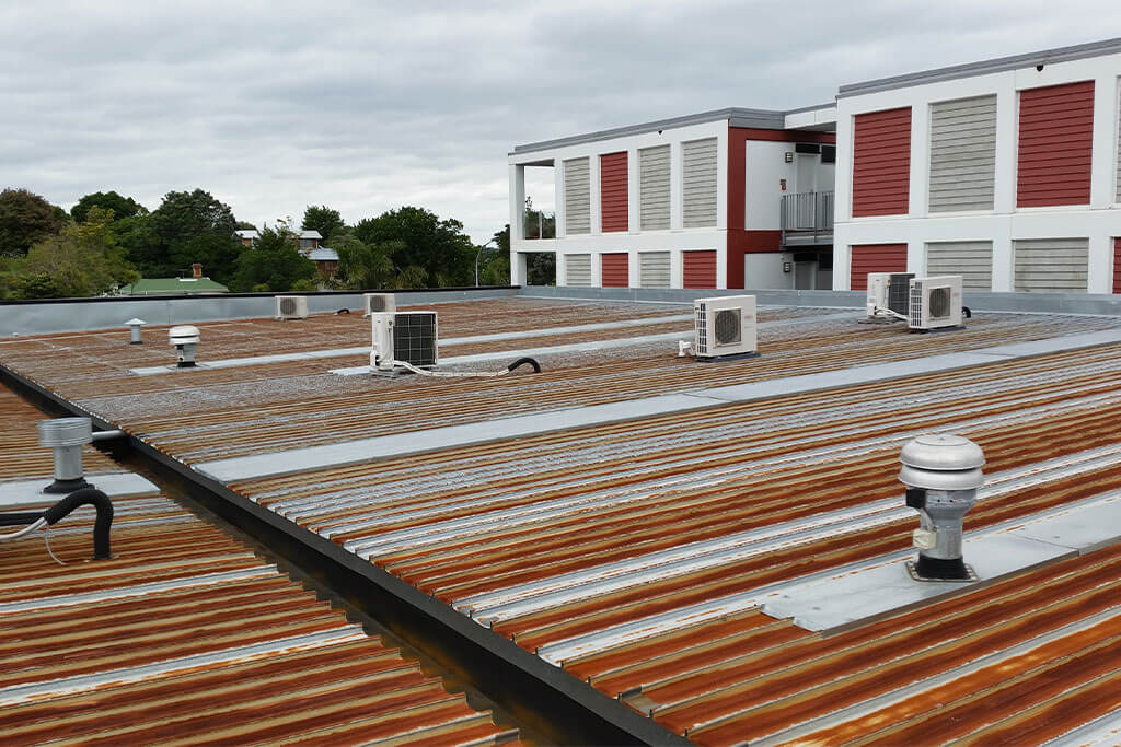 Remuera apartment warm roof case study - before